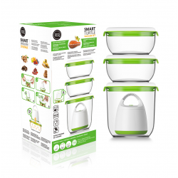 FOSA TURTLE Vacuum food storage Combo Set - LARGE 40000