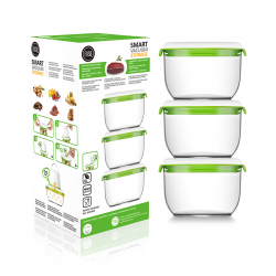 FOSA Food Storage Set of 3 Vacuum canisters MC30850
