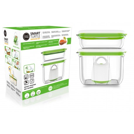FOSA Vacuum Food Storage Starter Set - Rectangular container 30020